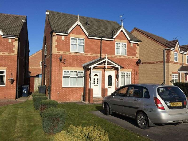 2 Bedrooms Semi Detached House for sale in Tyne View, Hebburn