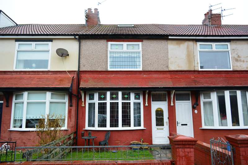 3 Bedrooms Terraced House for sale in Thames Road, South Shore, Blackpool, FY4 1ED