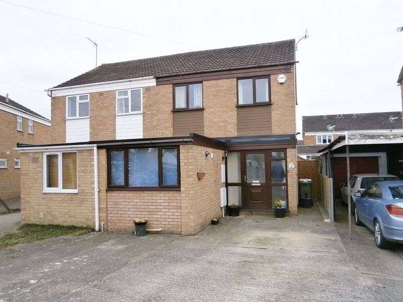 3 Bedrooms Semi Detached House for sale in The Hopyard, Tewkesbury, GL20 8RR