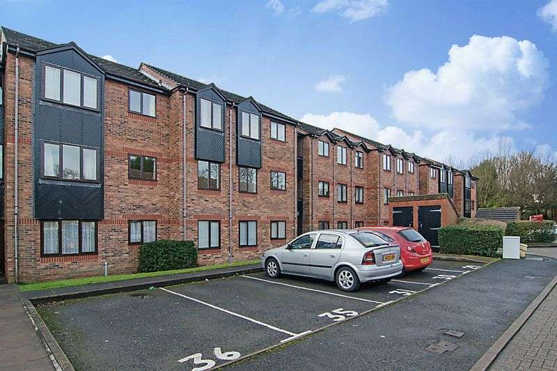 2 Bedrooms Flat for sale in Woottons Court, Stoney Croft, Cannock