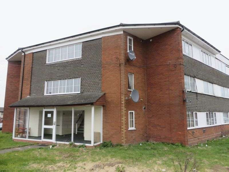 2 Bedrooms Flat for sale in Scott Close, West Bromwich