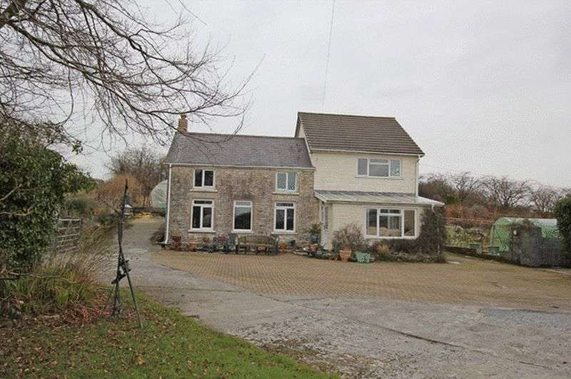 4 Bedrooms Detached House for sale in RHYDARGAEAU ROAD, CARMARTHEN