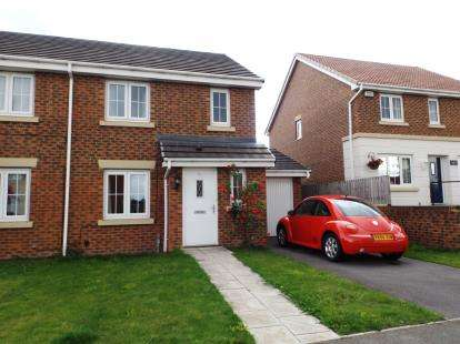 3 Bedrooms Semi Detached House for sale in Chestnut Drive, Darlington, Durham
