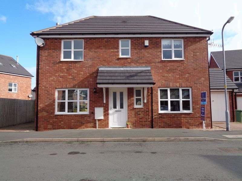 3 Bedrooms Detached House for sale in Lunns Gardens, Evesham