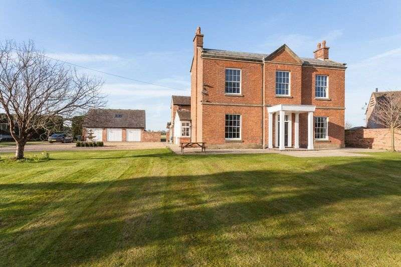 6 Bedrooms Detached House for sale in Park House Farm, Park Lane, Nantwich