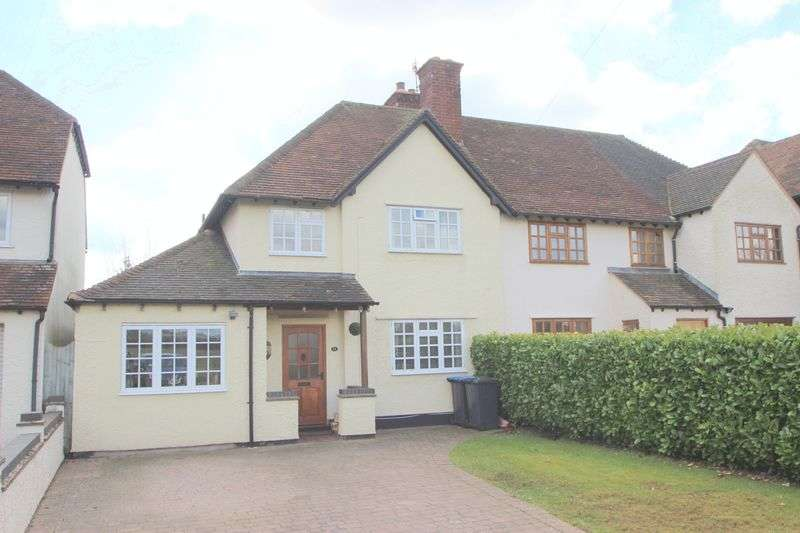 3 Bedrooms Semi Detached House for sale in Luddington Road, Stratford-Upon-Avon