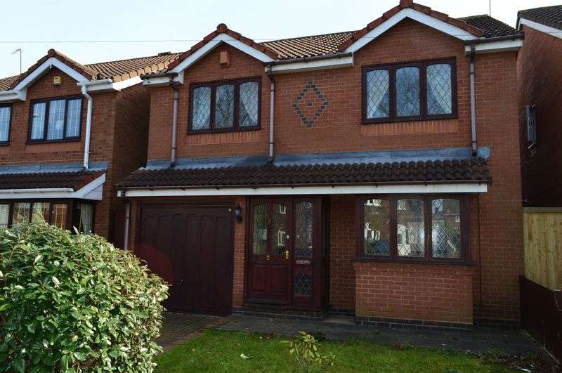 3 Bedrooms Detached House for sale in Stephens Court, Tipton