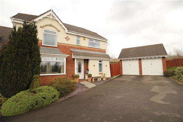 4 Bedrooms Detached House for sale in Clay Pit Way, Barlborough, Chesterfield, S43 4WN