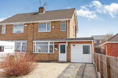 3 Bedrooms Semi Detached House for sale in Tournament Road, Glenfield, Leicester, Leicestershire