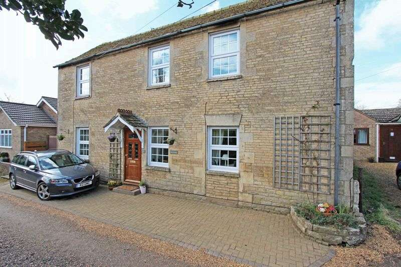 4 Bedrooms Detached House for sale in Character home in secluded loction in this charming village - Rose Cottage, Easton on the Hill