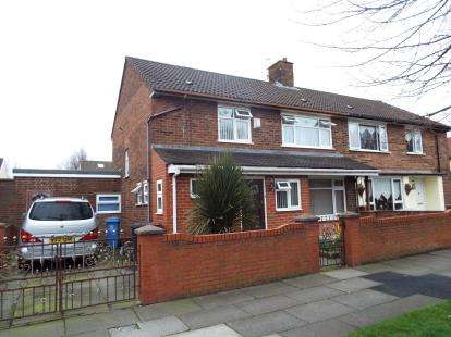 3 Bedrooms Semi Detached House for sale in Simonswood Lane, Liverpool, Merseyside, L33