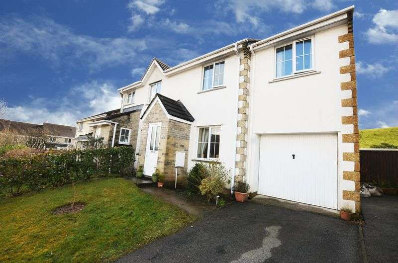 3 Bedrooms Semi Detached House for sale in Mitre Close, Tavistock