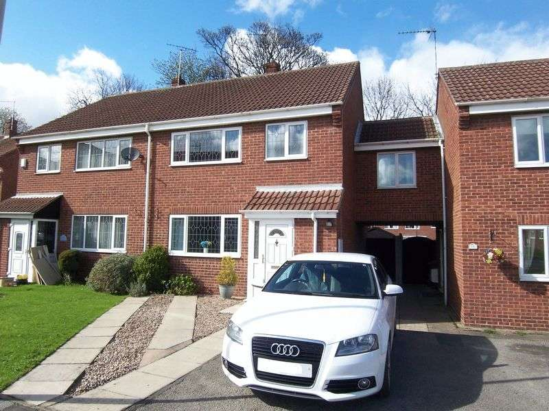 3 Bedrooms Semi Detached House for sale in Beechwood Croft, Sherburn In Elmet