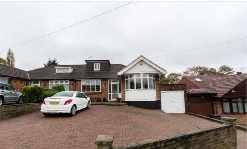 3 Bedrooms Semi Detached Bungalow for sale in 3 Bedroom Chalet Bungalow for sale, Bracken Drive, Chigwell, Essex IG7
