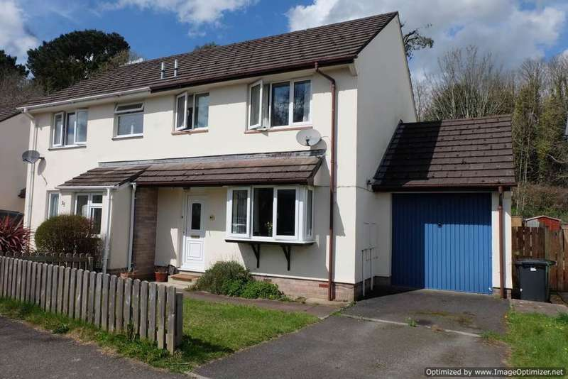 3 Bedrooms Semi Detached House for sale in Green Meadow Drive, Barnstaple