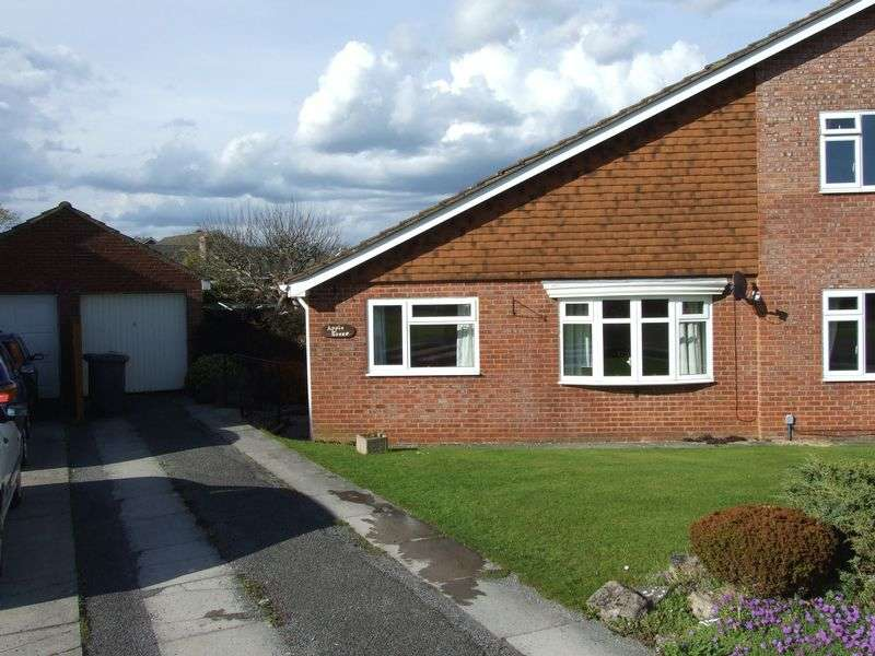 2 Bedrooms Semi Detached Bungalow for sale in Broadmead, Trowbridge