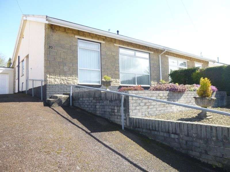 2 Bedrooms Semi Detached Bungalow for sale in Ambryn Road, New Inn, Two Double Bedrooms