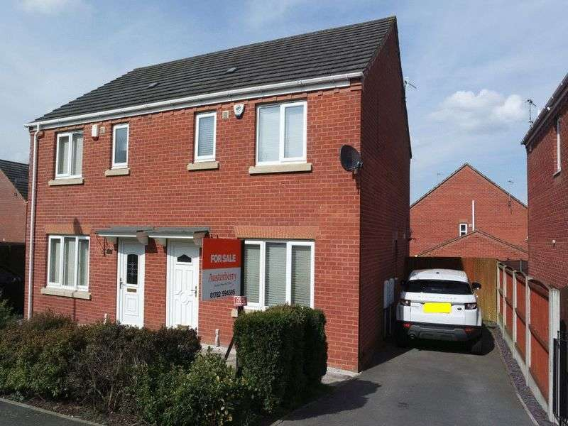 3 Bedrooms Semi Detached House for sale in Willow Tree Grove, Heron Cross, Stoke on Trent, ST4 3BF