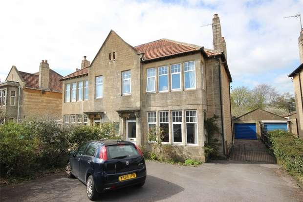 5 Bedrooms Semi Detached House for sale in Bradford Road, Combe Down, BATH