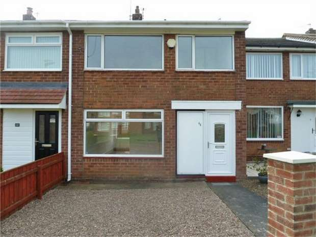 3 Bedrooms Terraced House for sale in Woodhorn Drive, Choppington, Northumberland