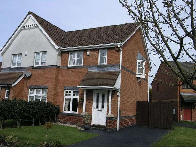 2 Bedrooms Semi Detached House for sale in Painters Croft, Coseley
