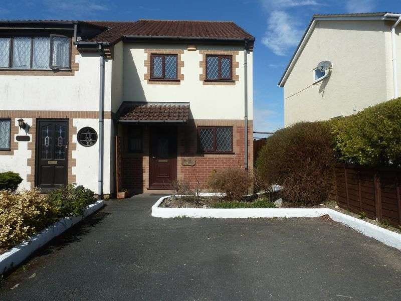 3 Bedrooms Semi Detached House for sale in Haytor View, Higher Sandygate, Kingsteignton