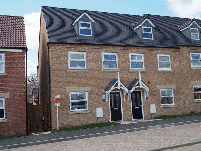 3 Bedrooms Semi Detached House for sale in Lavender Way, Newark