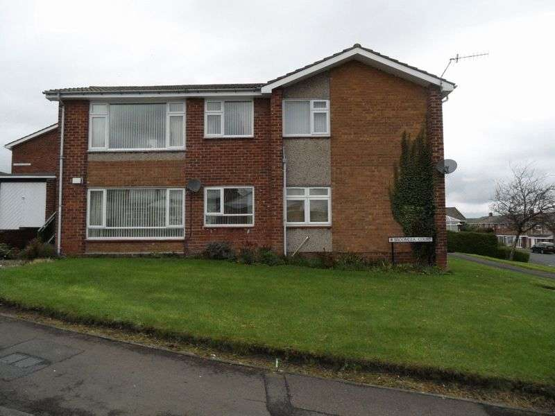 1 Bedroom Flat for sale in Broomlea Court, Blaydon On Tyne