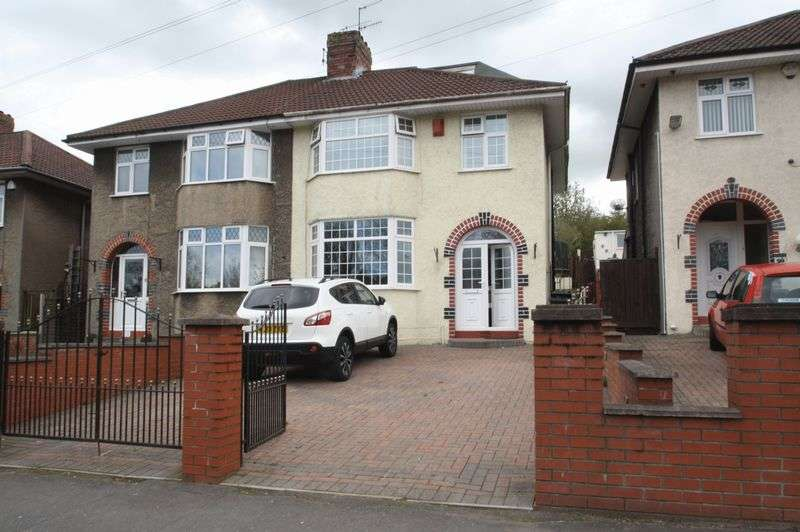 4 Bedrooms Semi Detached House for sale in Airport Road, Hengrove, Bristol BS14