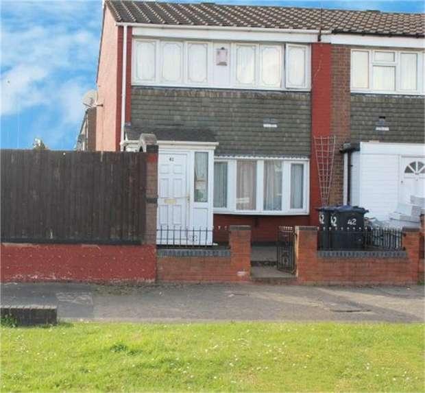 3 Bedrooms End Of Terrace House for sale in Barrow Walk, Birmingham, West Midlands