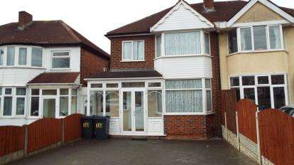 3 Bedrooms Semi Detached House for sale in Kings Road, Great Barr, Birmingham, West Midlands