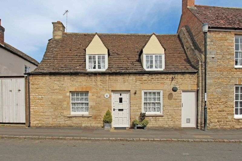 2 Bedrooms Cottage House for sale in Main Street, Barnack - Quintessential period cottage with Collyweston roof and private courtyard