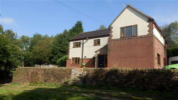 4 Bedrooms Detached House for sale in Rakeway Cottage, Rakeway Road, Cheadle