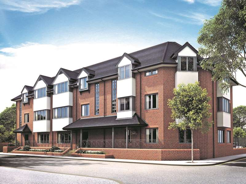 2 Bedrooms Apartment Flat for sale in Lavender Park Road, West Byfleet, Surrey, KT14
