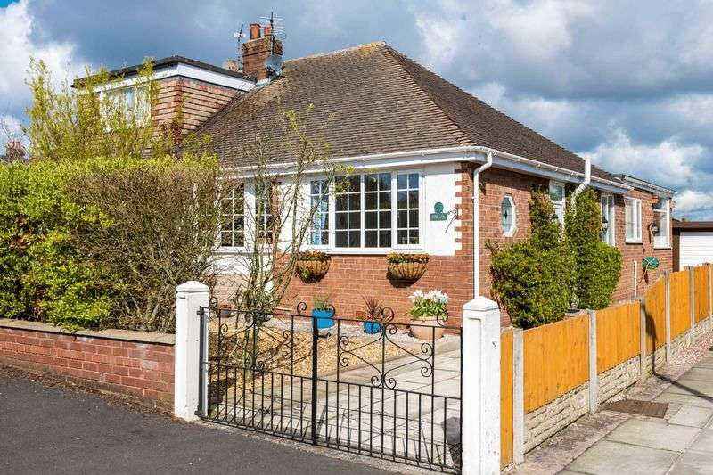 3 Bedrooms Semi Detached Bungalow for sale in Moss Lea, Tarleton