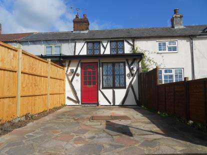 2 Bedrooms Terraced House for sale in Ravensden Road, Wilden, Bedford, Bedfordshire