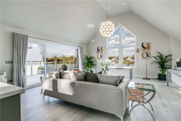 3 Bedrooms Detached House for sale in The Deck House - Plot 41, The Watermark, South Cerney, CIRENCESTER, Gloucestershire, GL7 5LW