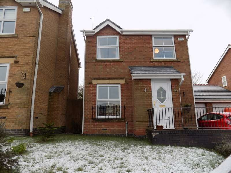 3 Bedrooms Detached House for sale in Holywell Close, Stoke-on-Trent, Staffordshire, ST8