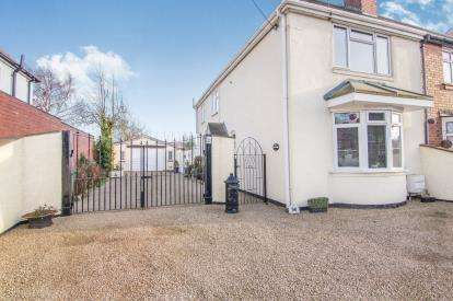 3 Bedrooms Semi Detached House for sale in Spon Lane, Grendon, Atherstone, Warwickshire