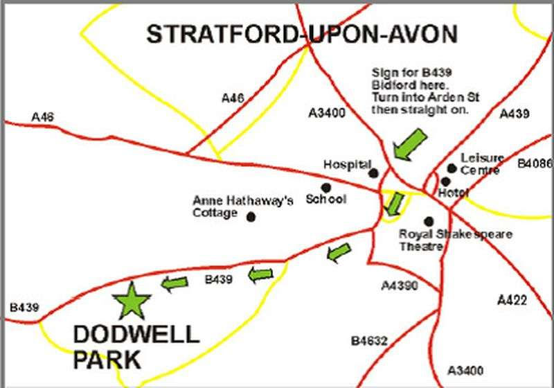 2 Bedrooms Detached Bungalow for sale in Dodwell Park, Stratford-Upon-Avon