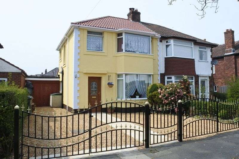 3 Bedrooms Semi Detached House for sale in Knowe Park Avenue, Carlisle