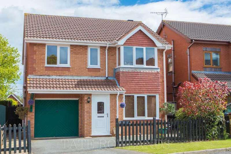 4 Bedrooms Detached House for sale in Pwll Y Hwyaden, Flint
