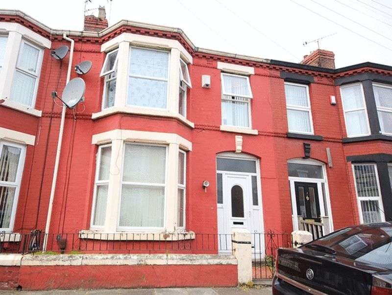 3 Bedrooms Terraced House for sale in Portman Road, Wavertree, Liverpool, L15