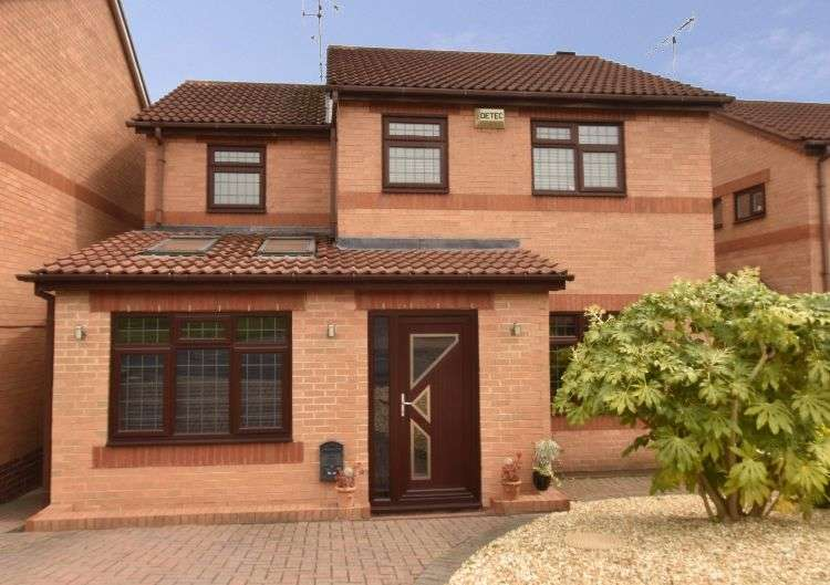 4 Bedrooms Detached House for sale in Fenton Fields, South Yorkshire, S61 3SU