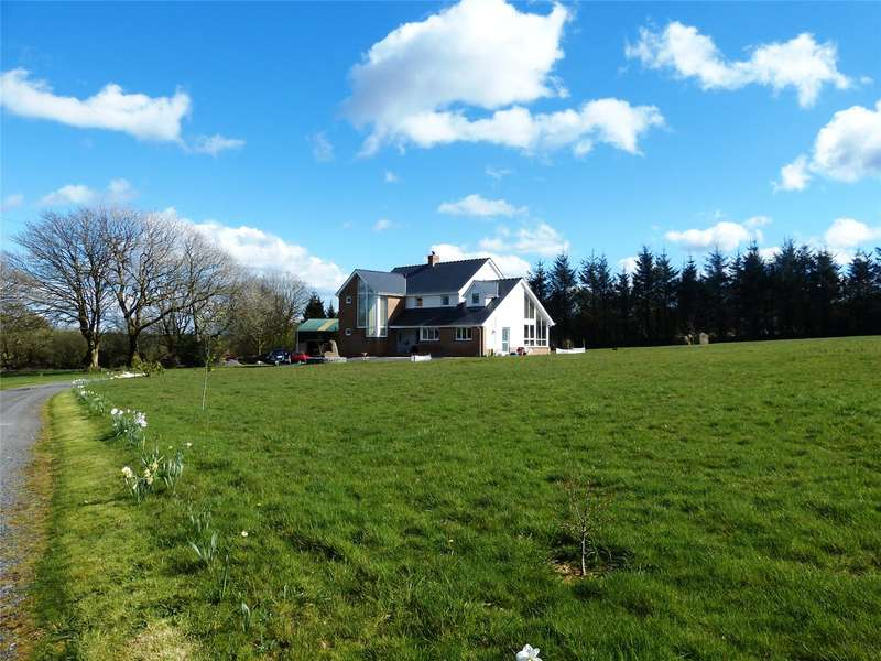 4 Bedrooms Detached House for sale in Geredon, Hermon, Glogue, Pembrokeshire