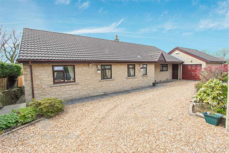 4 Bedrooms Detached Bungalow for sale in Victoria Drive, Helmshore, Haslingden, Rossendale, Lancashire