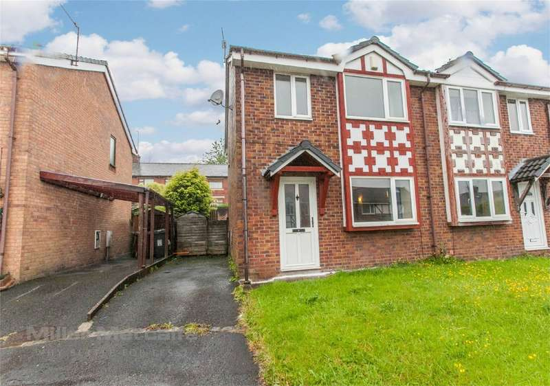 3 Bedrooms Semi Detached House for sale in Blair Close, Shaw, Oldham, Lancashire
