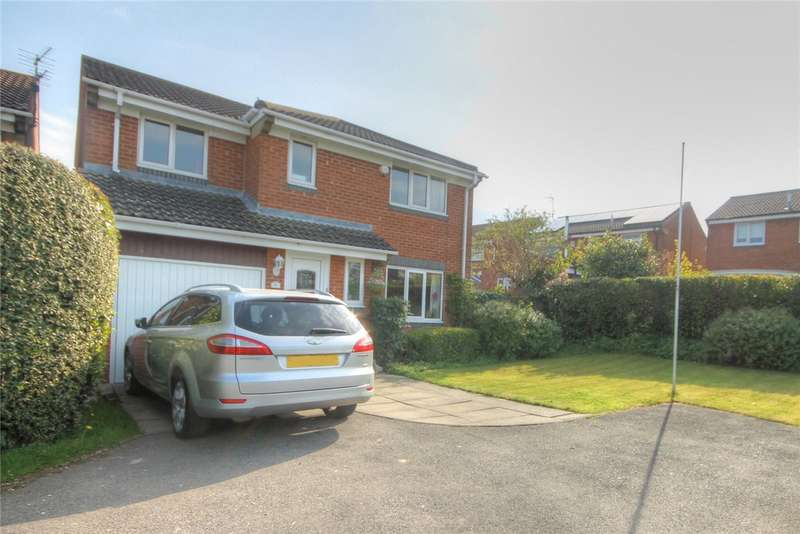 4 Bedrooms Detached House for sale in Beckett Close, Etherley Dene, Bishop Auckland, DL14