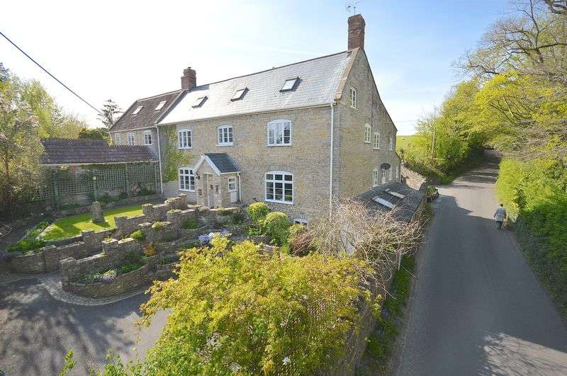 5 Bedrooms Semi Detached House for sale in Lascot Hill, Wedmore, Somerset, BS28 4AE