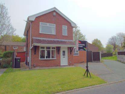 3 Bedrooms Detached House for sale in Sabre Close, Murdishaw, Runcorn, Cheshire, WA7